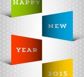 สวัสดีปีใหม่ 2015