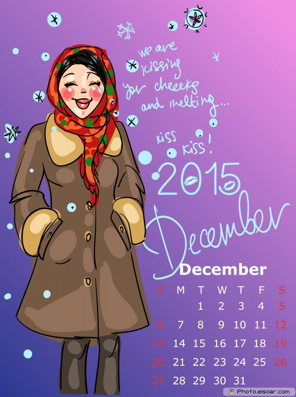 12 Dec 2015 Calendar