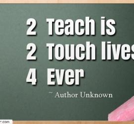 2 Teach is