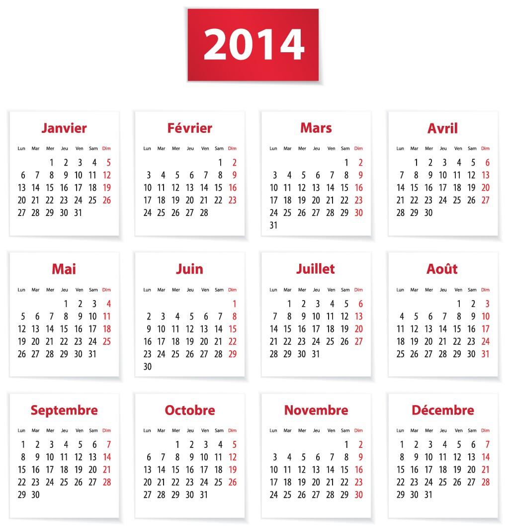 2014 Calendar Online - Printable 2014 Holiday Calendar