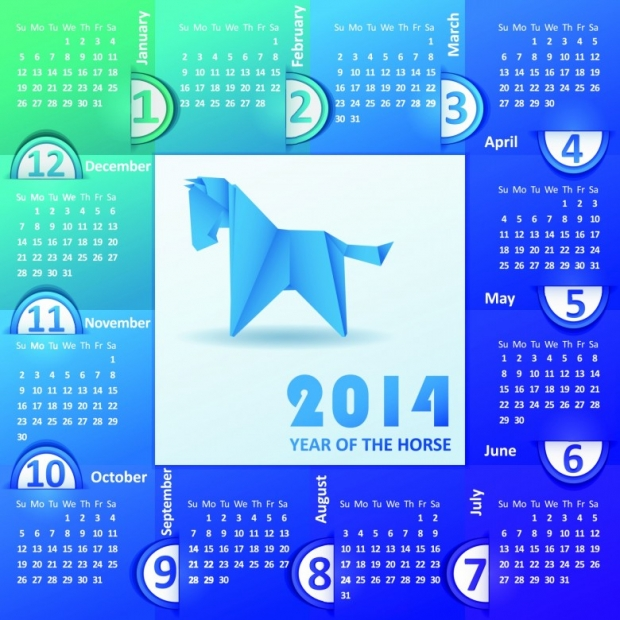 2014 Calendar Printable 1 780x780 2014 Calendar Ready to Printable