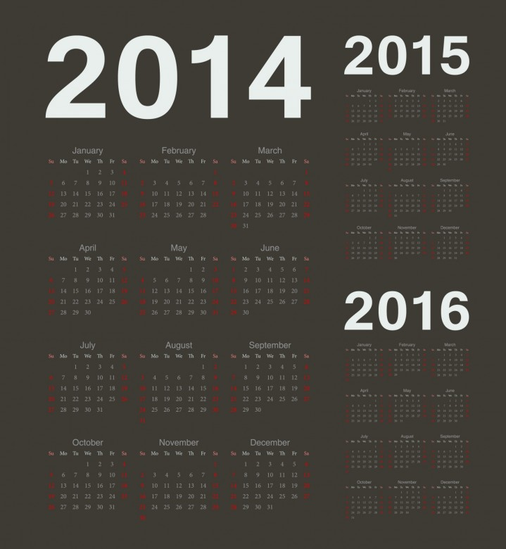 2014 Calendar Printable 15 719x780 2014 Calendar Ready to Printable