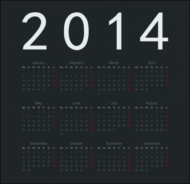 2014 Calendar Printable 19 780x752 2014 Calendar Ready to Printable