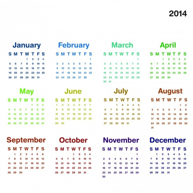 2014 Calendar Printable 8 780x780 2014 Calendar Ready to Printable