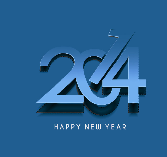 2014 New Year Card Design Image high resolution