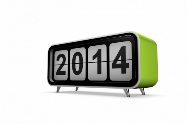2014 Numbers Happy 2014 New Year Image, hd Wallpaper