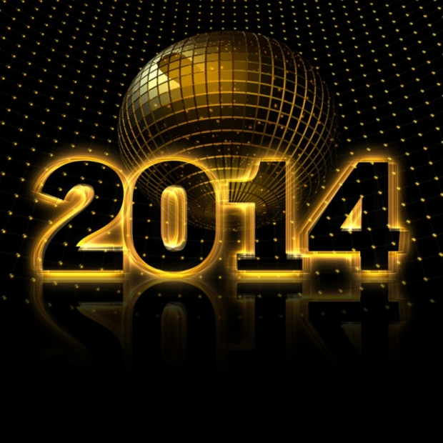 2014 Numbers Happy 2014 New Year free Image, Wallpaper