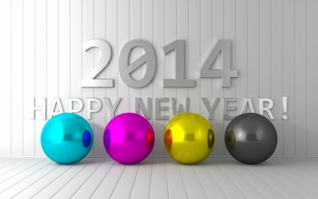 2014 Numbers Wallpaper Happy 2014 New Year Image