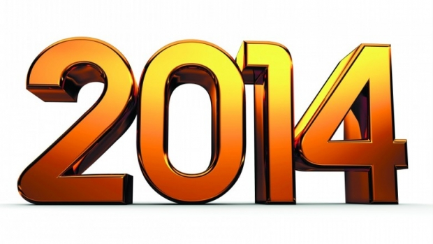 2014 Numbers free Happy 2014 New Year Image, Wallpaper