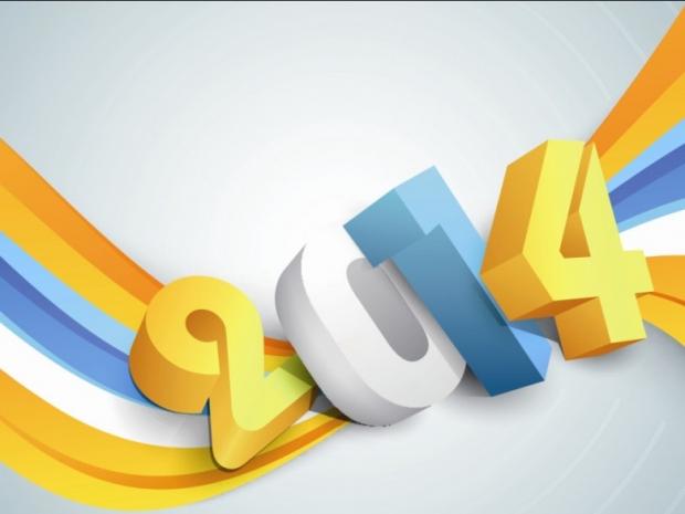 2014 font