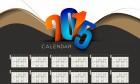 2015 Calendar - Chronological Design