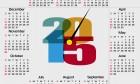2015 Calendar Design To Print