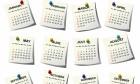 2015 Calendar - Notes Design
