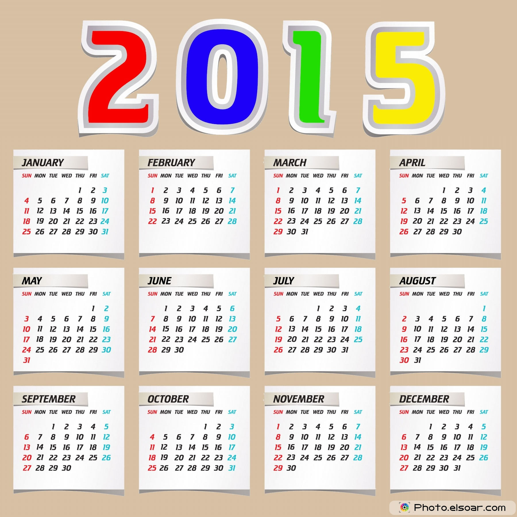 Calendar Design : Top designs for european calendars elsoar