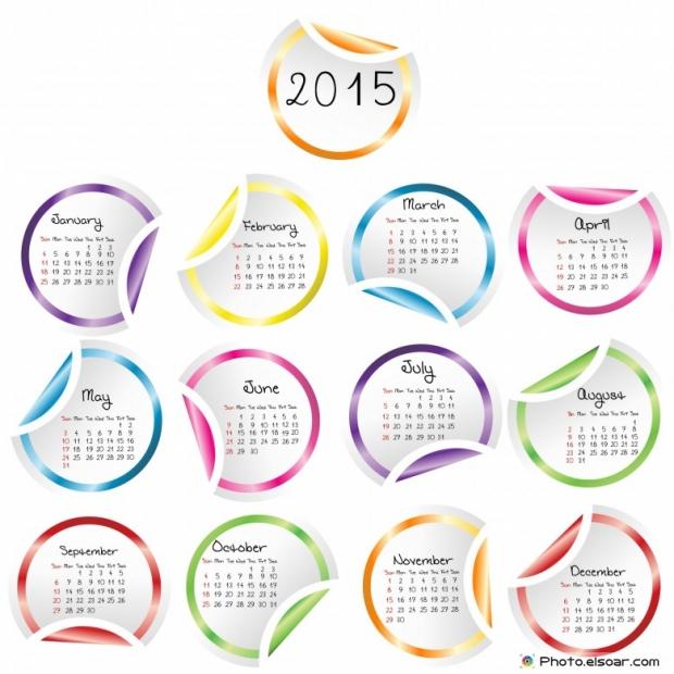 2015 Calendar Designs, With 25 Good Ideas.