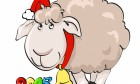 2015 Cartoon Image With Sheep