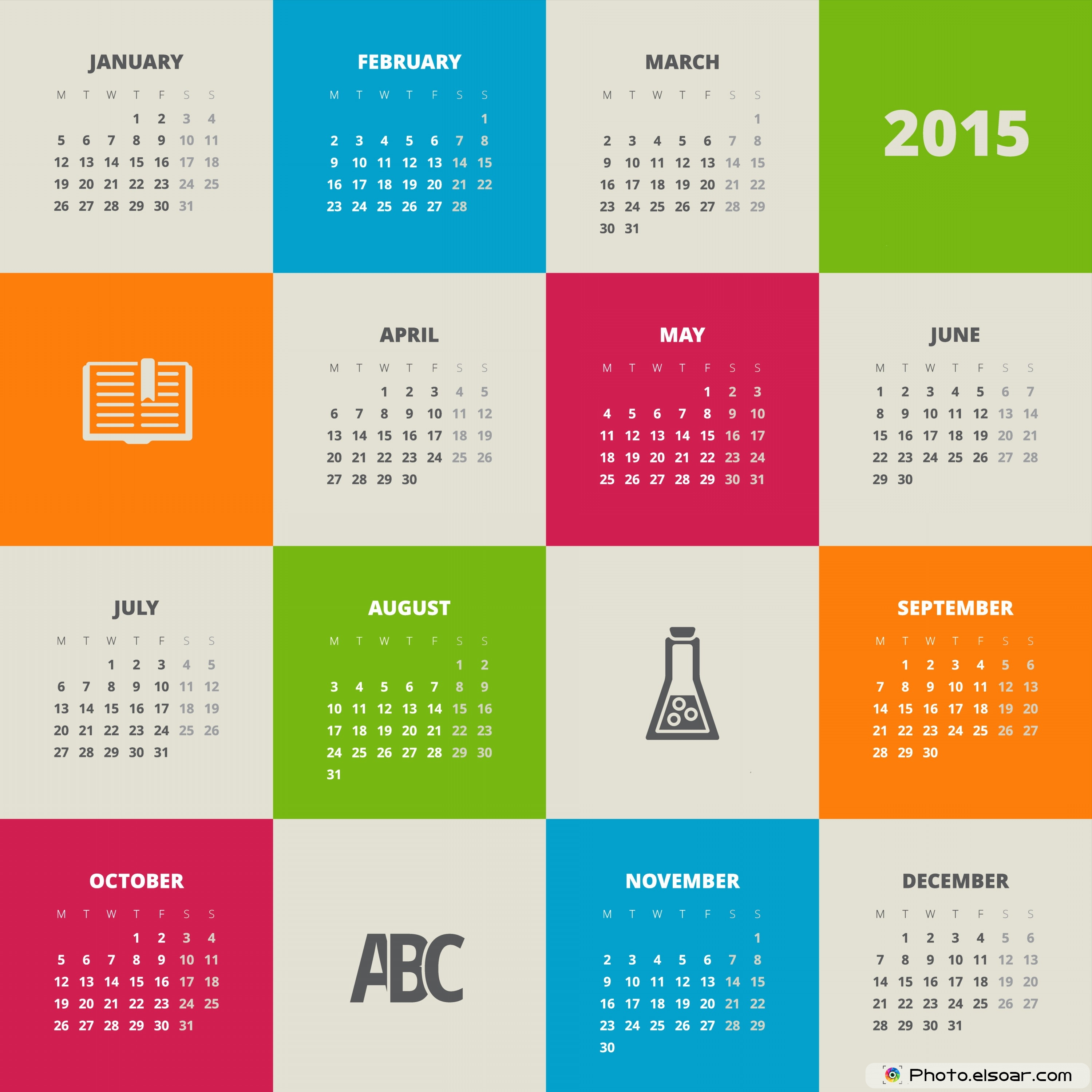 Calendar Design On : Free calendars to print diverse ideas elsoar