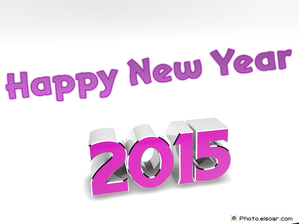 2015 Happy New Year 3d Wallpaper Download