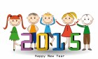 2015 Happy New Year With Kids