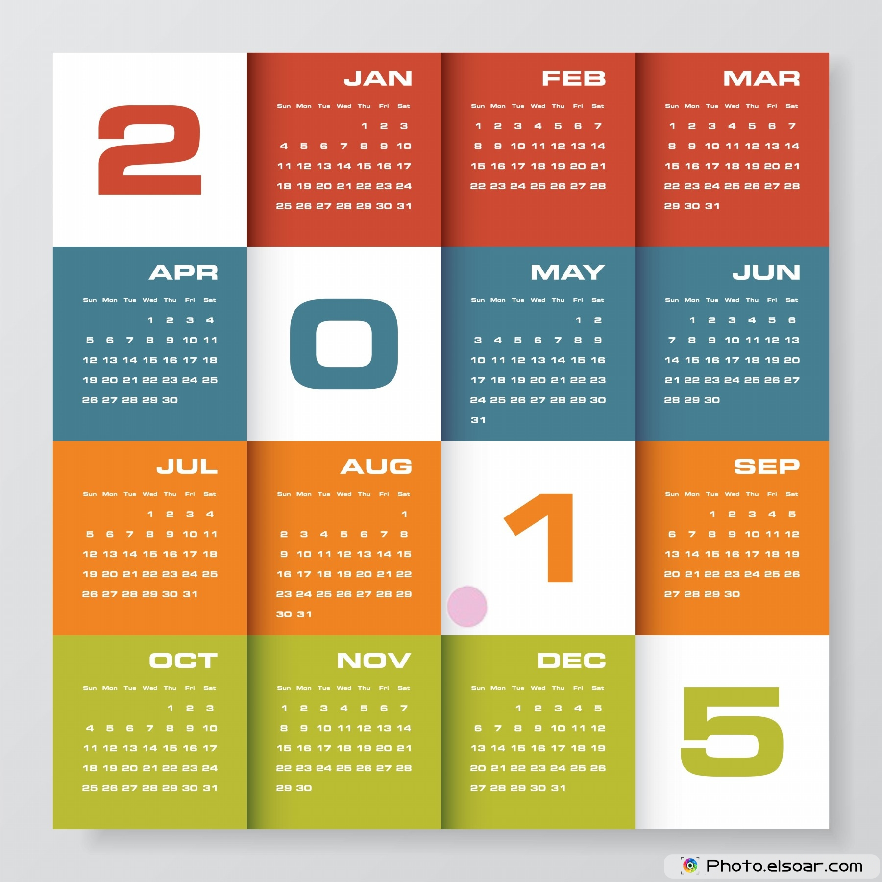 Choose The Appropriate Calendar For 2015 – From The Best We Have ...