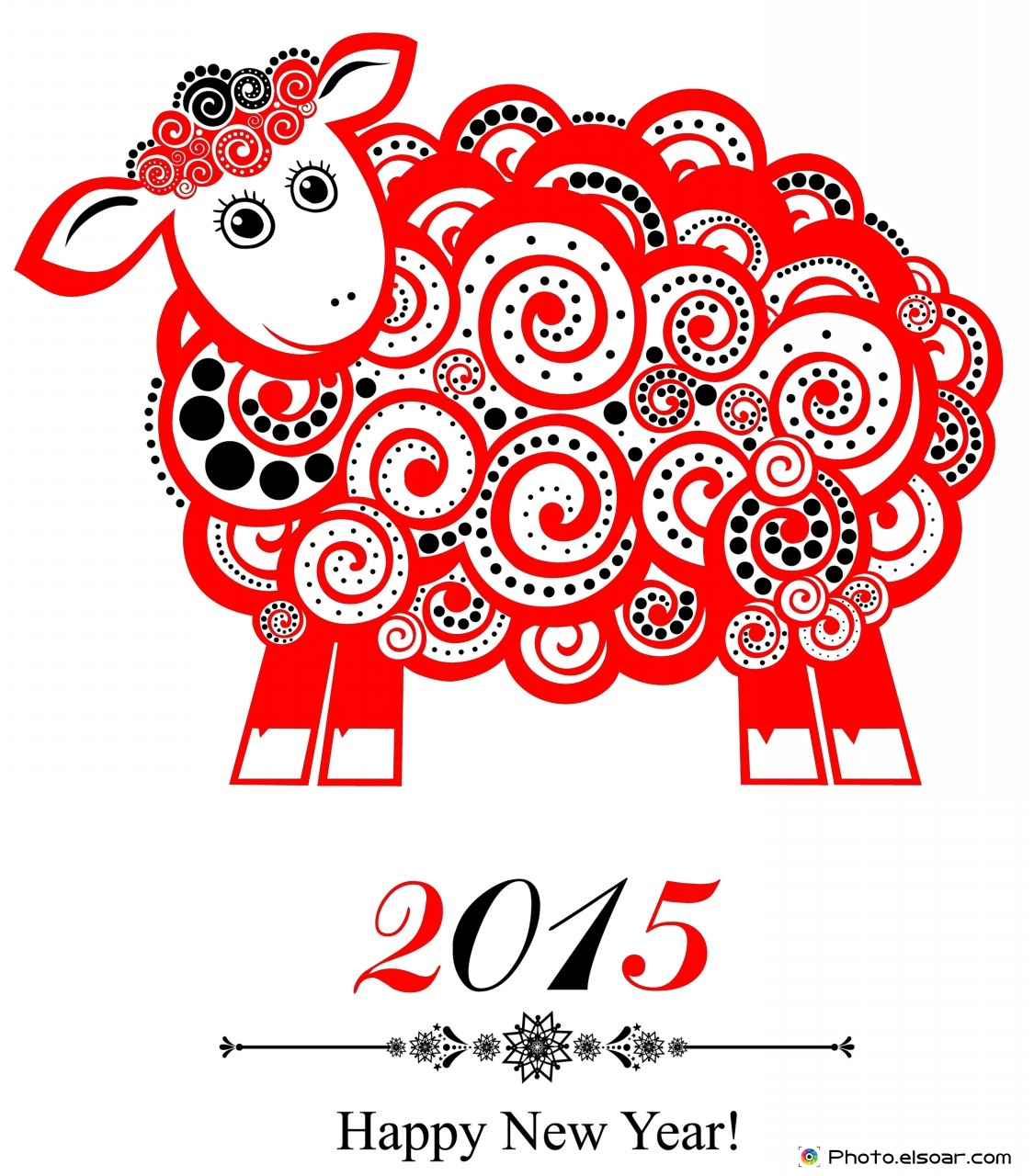 2015 year of the sheep with new designs