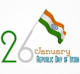 26 January Republic day of India Stylish Facebook Cover Photo