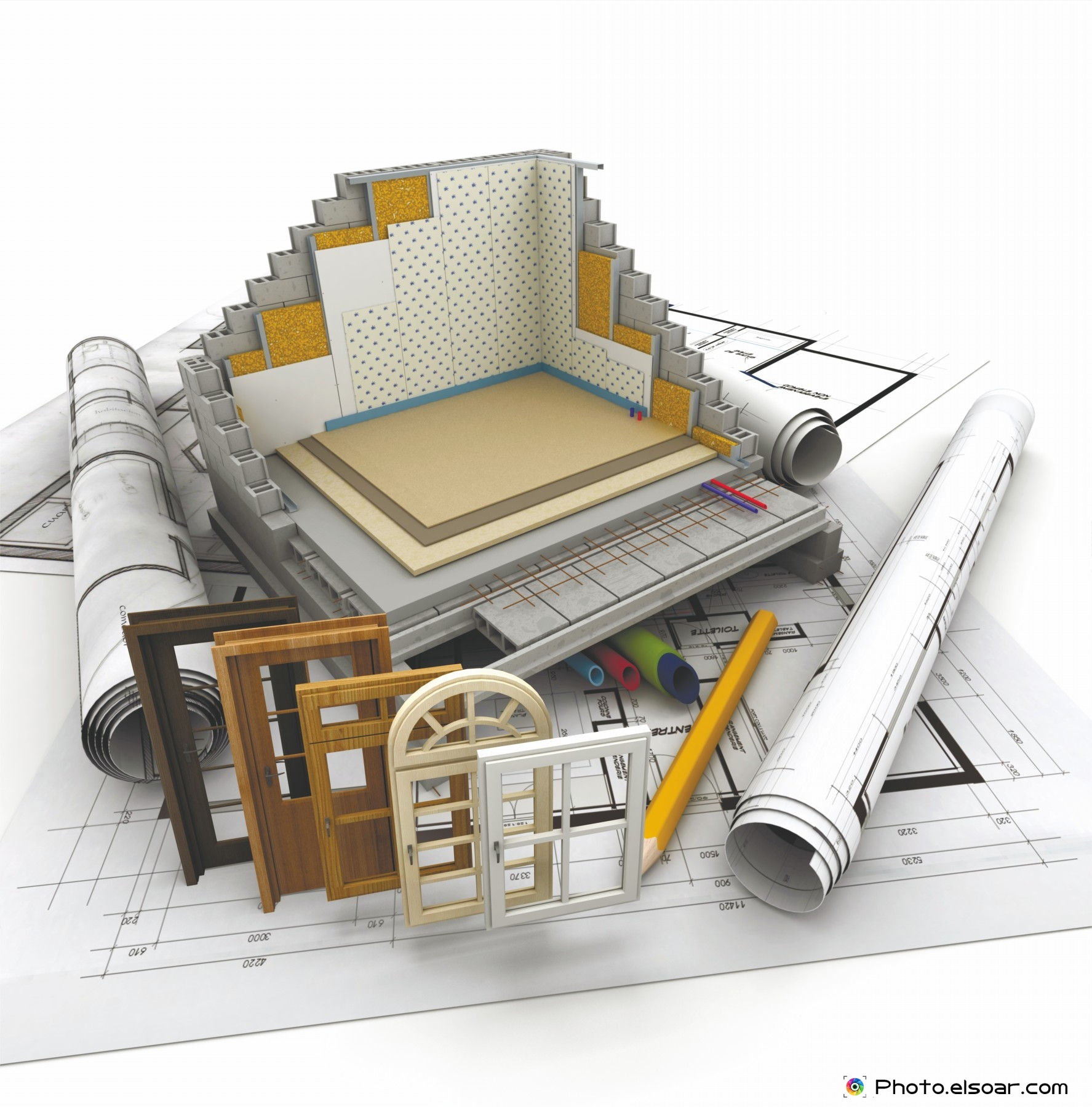 3d Technical Details On Home Construction