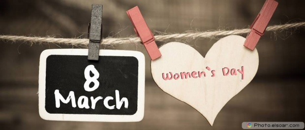 8 March Happy Women's Day - Social Networks