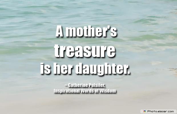 A mother's treasure