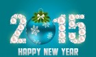 Abstract Beauty New Year 2015 Background