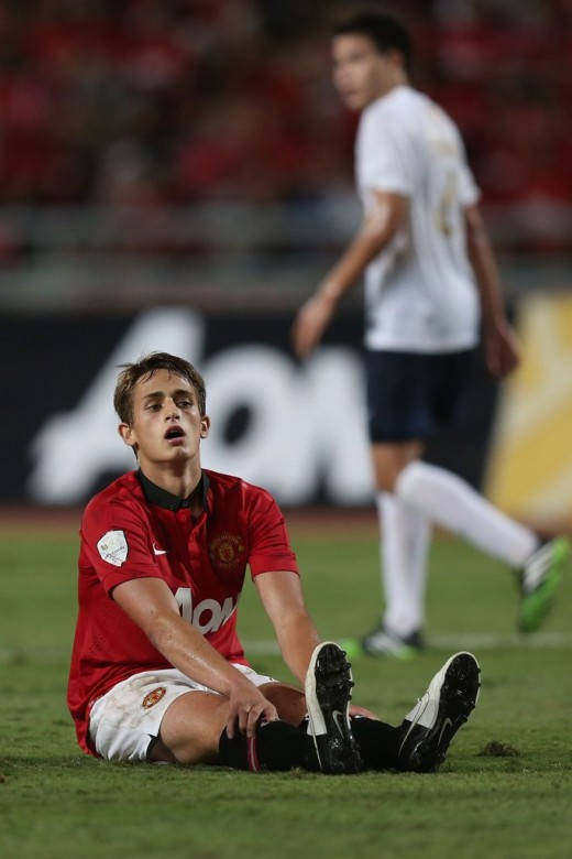 Adnan Januzaj Photos. Manchester United 1