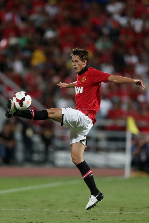 Adnan Januzaj Photos. Manchester United