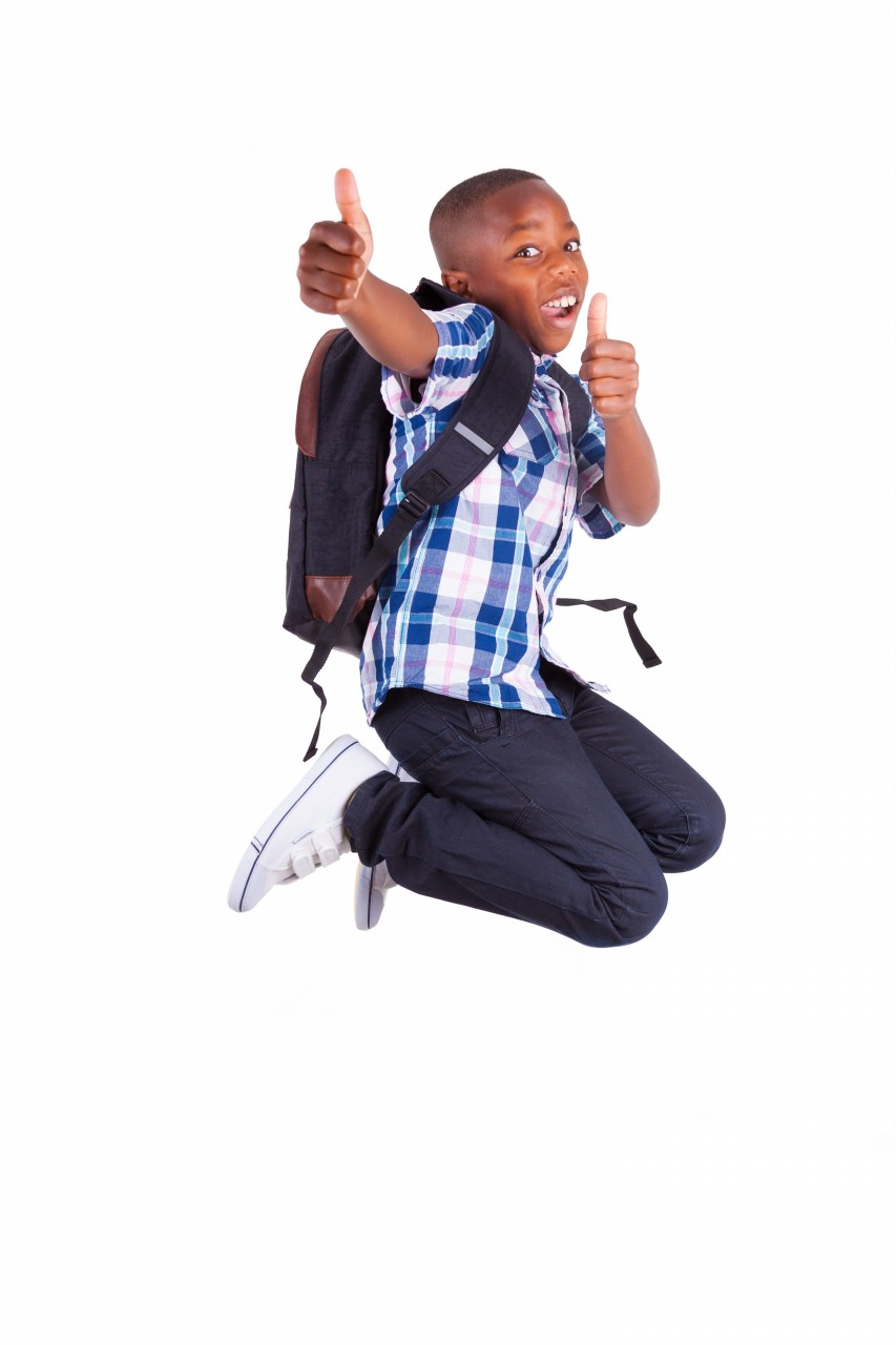Image result for african american children going to school