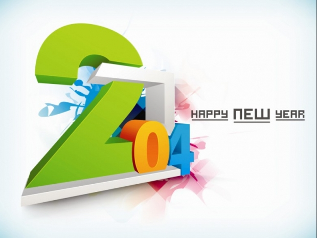 Amazing 2014 New Year Design 9