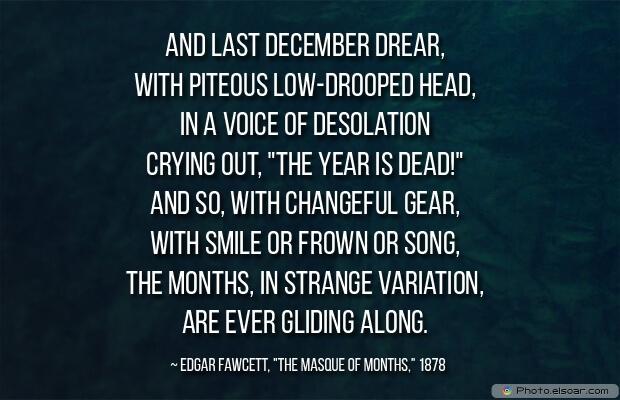 December , Variation,Edgar Fawcett