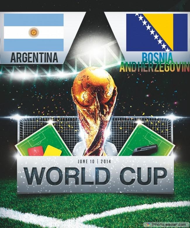 Argentina vs Bosnia and Herzegovina - World Cup 2014 - 19:00 Local time - GROUP F - Maracanã - Estádio Jornalista Mário Filho - Rio De Janeiro
