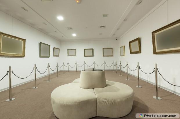 Art Gallery Interior - White
