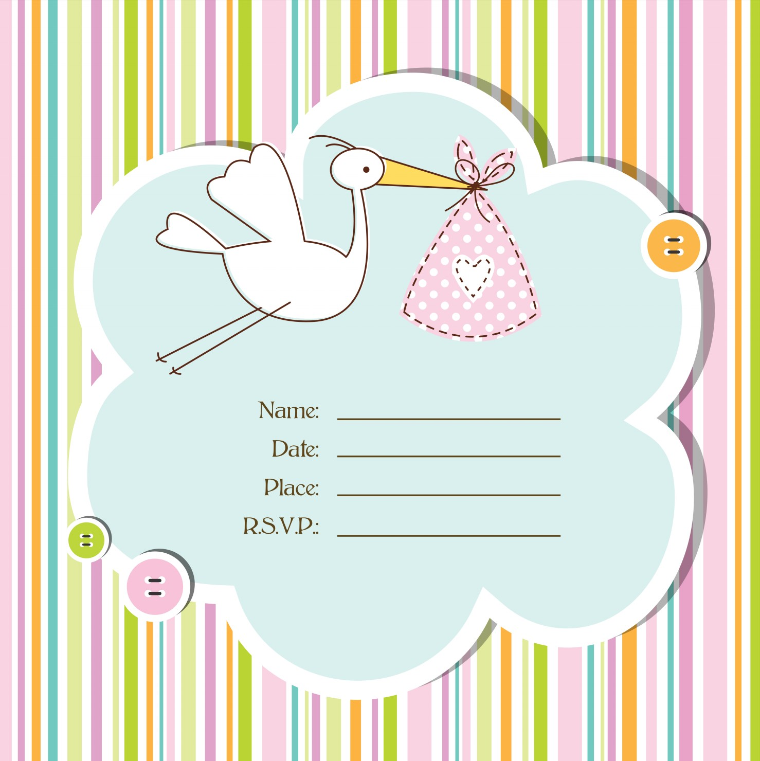 Baby Shower Invitations The 25 Best Cards • Elsoar