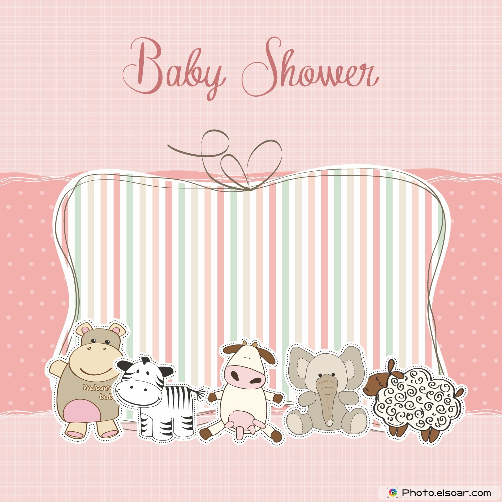 happy baby shower 24 invitation cards gifts elsoar