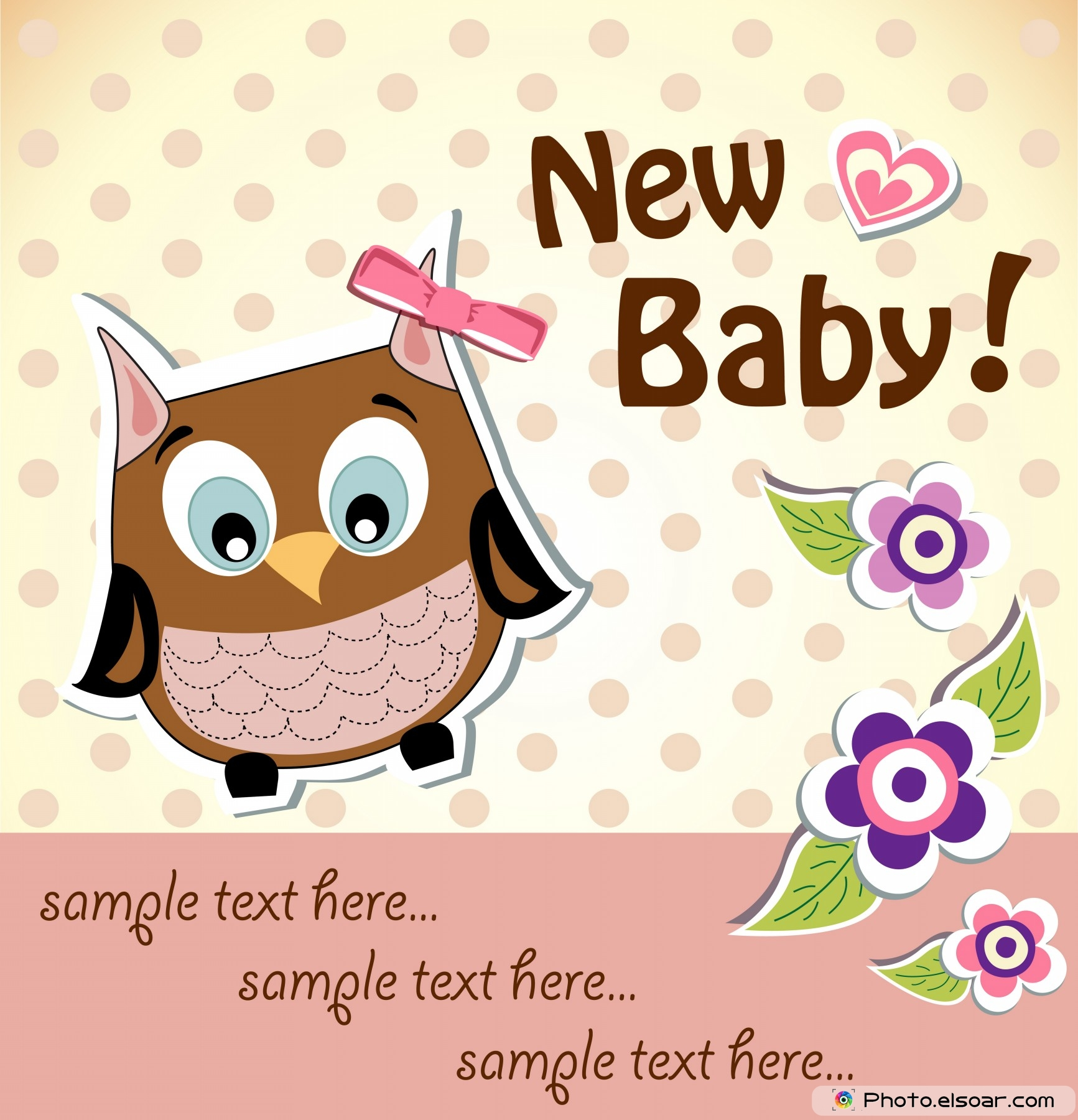 Owl Baby Girl Shower Invitations was best invitations ideas