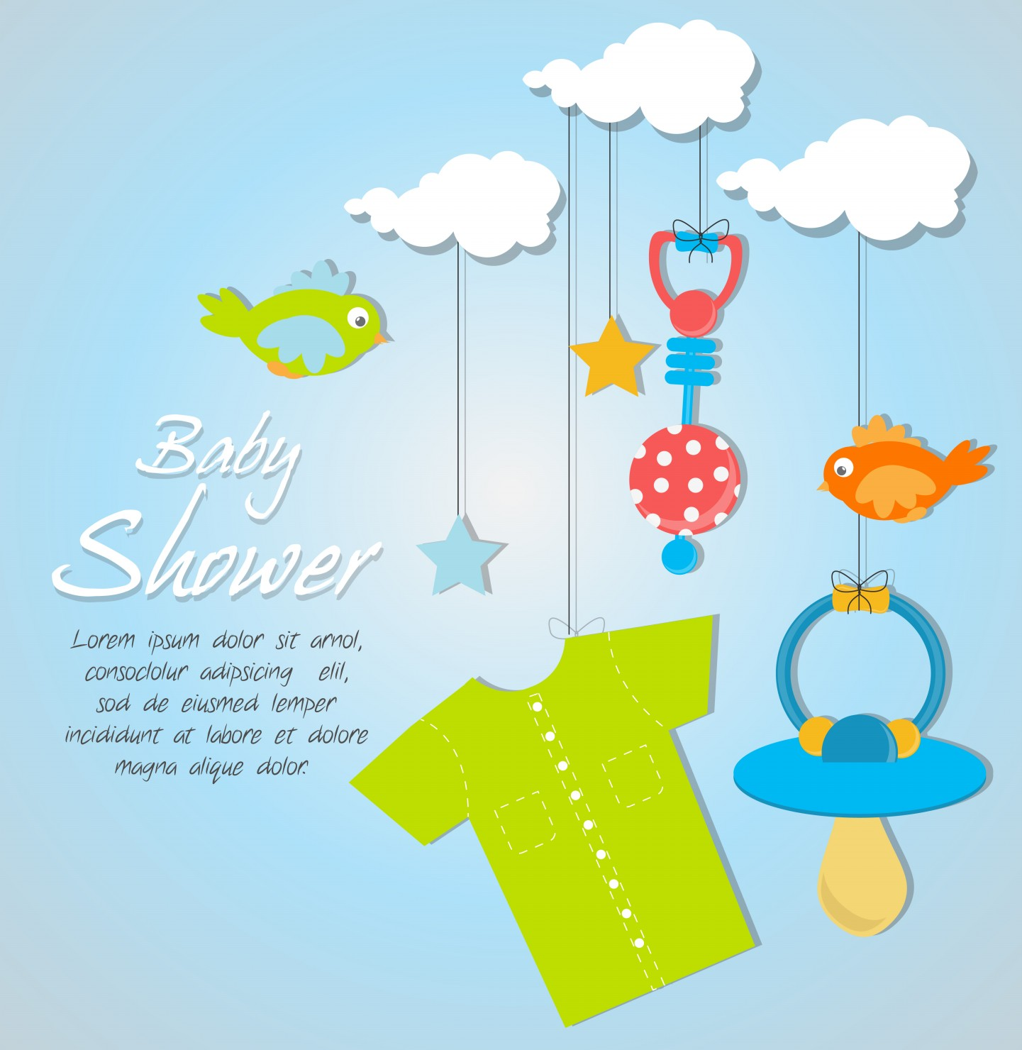 Indian Baby Shower Invitations Part - 41: Baby Shower Card