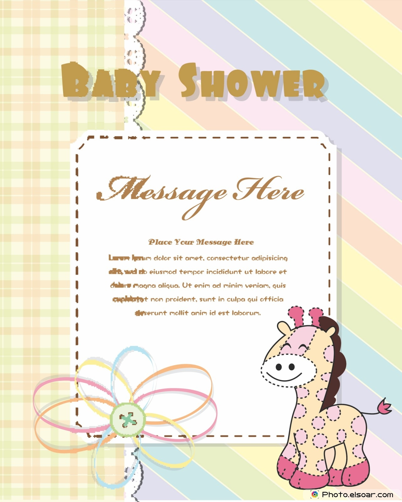 12 free printable baby shower invitation cards cute designs