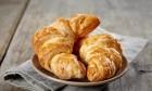 Baked Croissants On Dish