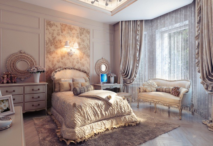 Beautiful Bedrooms with Classic Design 4