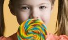 Beautiful Girl With Lollipop