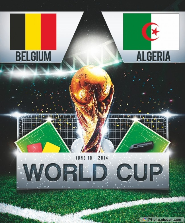 Belgium vs Algeria - World Cup 2014 - 13:00 Local time - GROUP H - Estadio Mineirao - Belo Horizonte