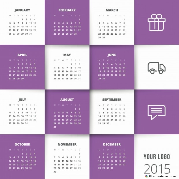 Business Calendar Template   Images  Yearly Calendar