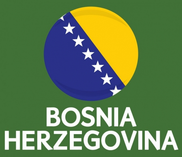 Bosnia and Herzegovina Flag FIFA World Cup