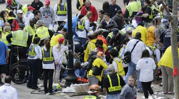 Boston Marathon Bombing In Pictures 1