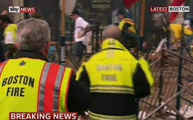 Boston Marathon Bombing In Pictures 10